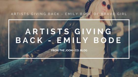 Joon + Co. Artists Giving Back - Emily Bode