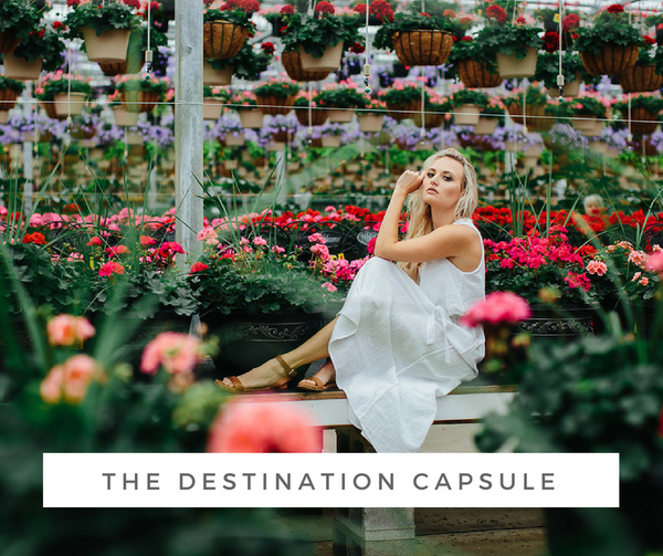 Travel Capsule Wardrobe - The Destination Capsule | Joon + Co. Modern Style, Ethical Fashion