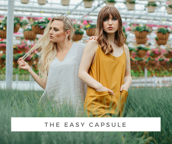 The Easy Capsule Wardrobe | Joon + Co. Modern Style, Ethical Fashion
