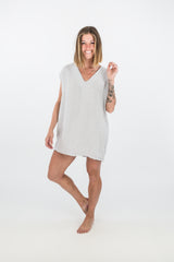Hackwith Design House Raw Finish Easy Dress