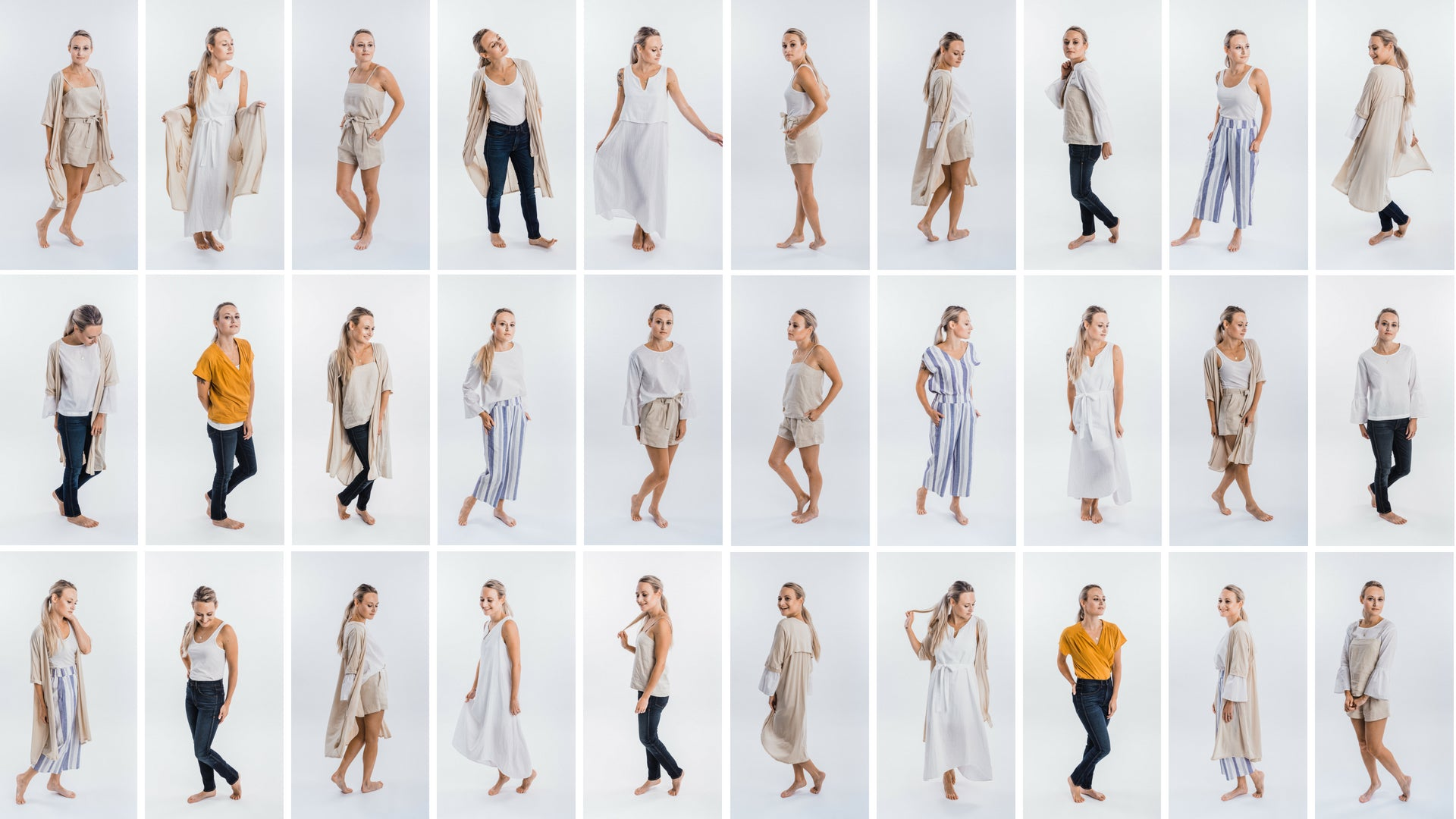 The destination Capsule Looks | Joon + Co. Capsule Wardrobes