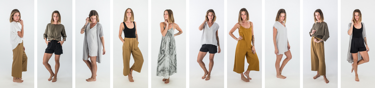 shop these soft clothing items from our Easy Capsule wardrobe; as comfortable as they are stylish.