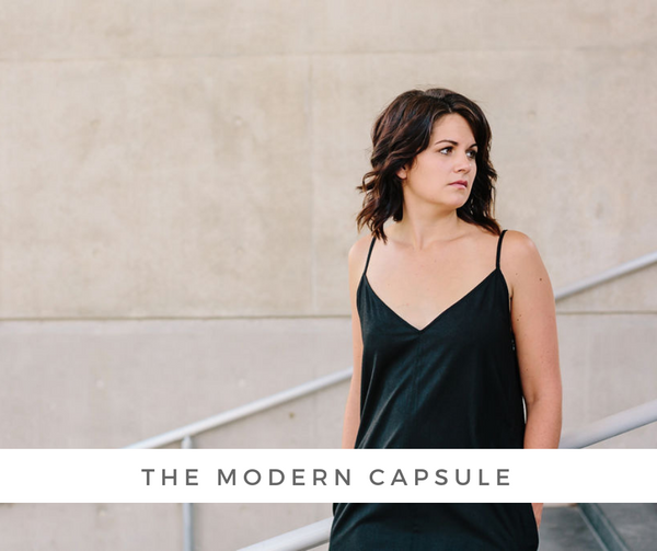 Fall Capsule Wardrobe - The Modern Capsule | Joon + Co. Modern Style, Ethical Fashion