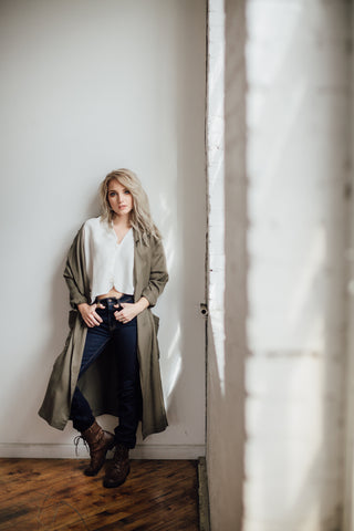 Hackwith Design House - The Tencel Trench