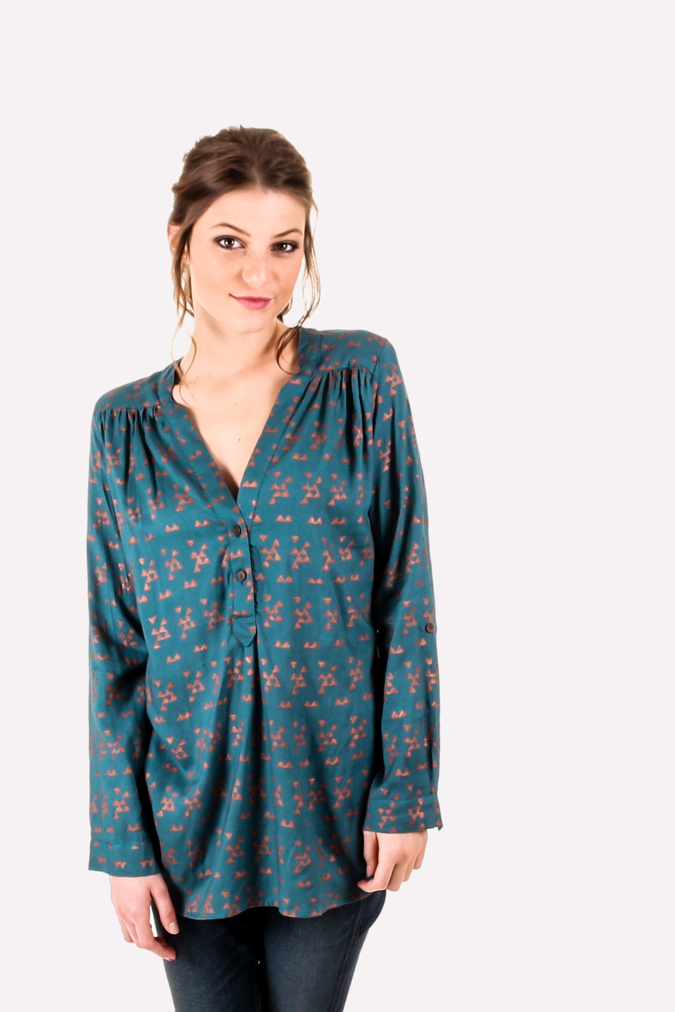 Symbology Triangulate Tunic | Women's Holiday Style