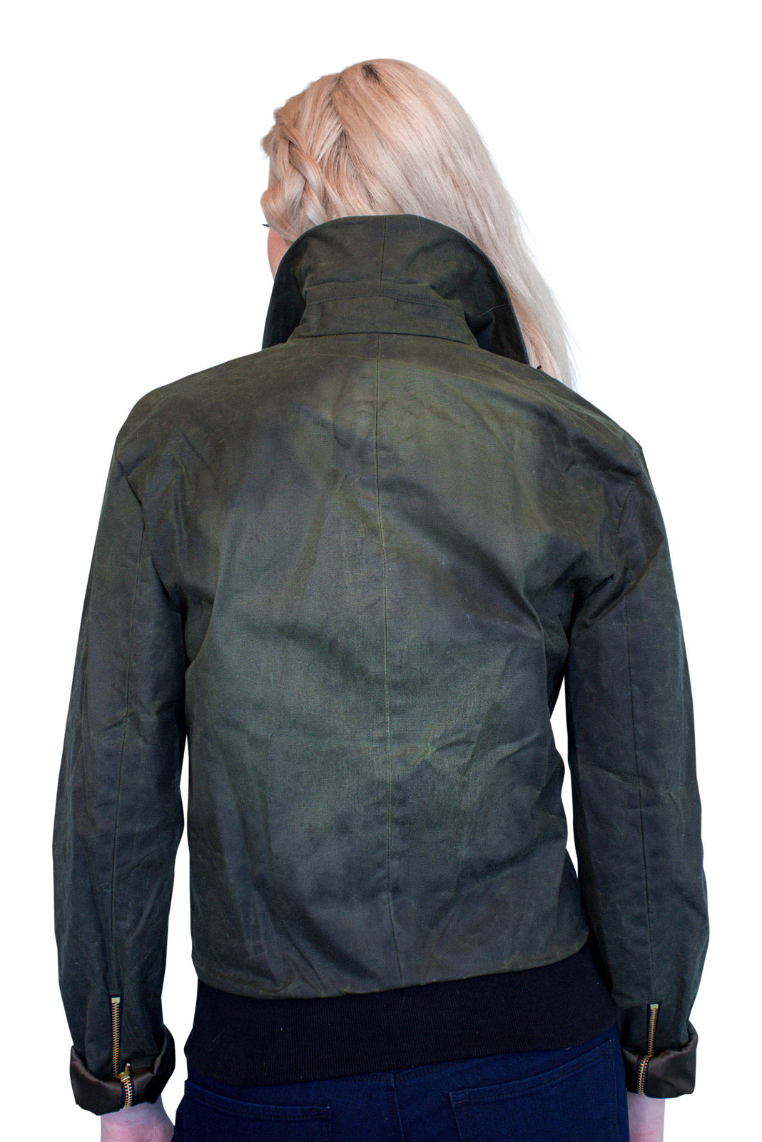 James Waxed Moto Jacket