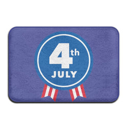 CHARMHOME Useful US Independence Day Federal Holiday Door Mat Cool Doormat