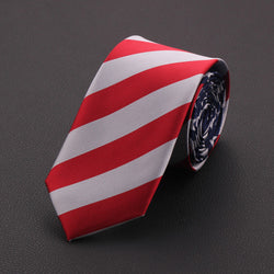 New Fashion Men 7cm American US Flag Elements Neck Tie Stars And Stripes Necktie BWTQN0038