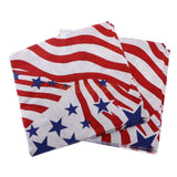 24 Pieces Disposable Paper Tissue Napkins Independent Day July 4th Party Wedding Birthday Supplier