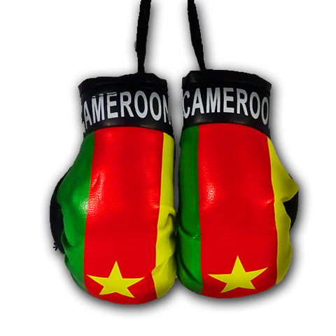 CAMEROON MINI BOXING GLOVES