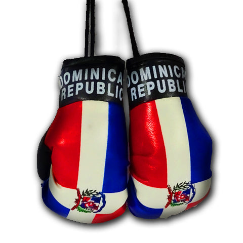 DOMINICAN REPUBLIC MINI BOXING GLOVES