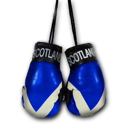 SCOTLAND MINI BOXING GLOVES