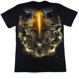 Large Eagles Black T Shirt