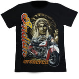 Indian Motorcycle Black T Shirt