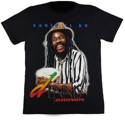 "DENNIS BROWN ""COULD IT BE"" - Black T-Shirt"
