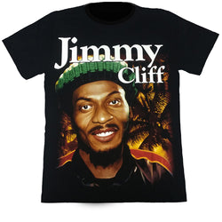 JIMMY CLIFF - Black T-Shirt