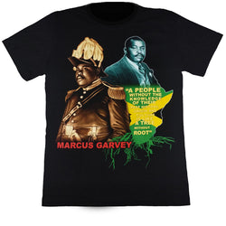 MARCUS GARVEY - Black T-Shirt