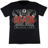 ACDC Black Ice Black T Shirt