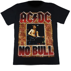 ACDC No Bull Black T Shirt