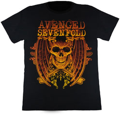 Avenged Sevenfold Black T Shirt