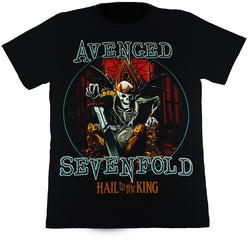 Avenged Sevenfold Hail To The King Black T Shirt