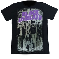 Black Sabbath Revolution In Their Mind Black T Shirt