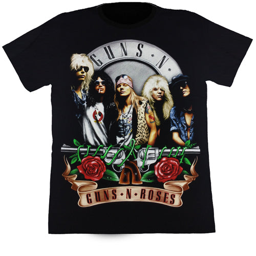Guns N' Roses Black T Shirt