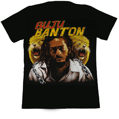 Buju Banton Black T Shirt