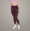 VICTORIA DARK PURPLE LEGGINGS - FITLEGEND