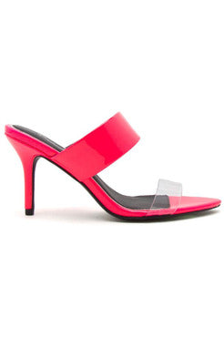 BEHAVE PINK HEELS - The Envy Shoetique