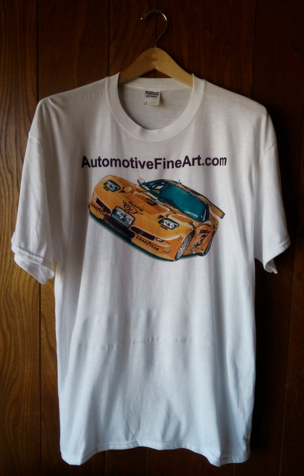 AUTOMOTIVEFINEART.COM WHITE T-SHIRT - AutomotiveFineArt.com