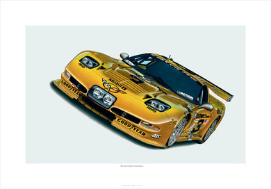 THE LAST CORVETTE DALE EARNHARDT RACED - AutomotiveFineArt.com