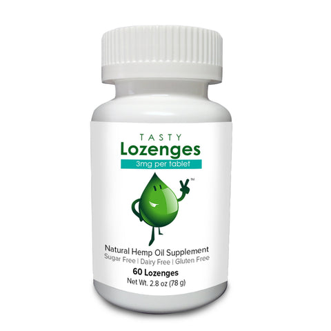 Tasty Hemp Oil: Tasty Lozenges