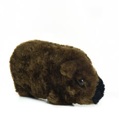 Diary of a Wombat+ Wombat Lambskin soft toy & CBag