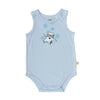 Singlet Baby Jump Suit - Organic Cotton -Polar Bear