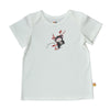 Baby Short Sleeve T-Shirt - Organic Cotton -Chimp