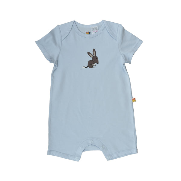 Short Sleeve Baby Jump Suit - Organic Cotton -Bilby