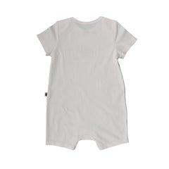 Short Sleeve Baby Jump Suit - Organic Cotton -Wombat
