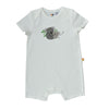 Short Sleeve Baby Jump Suit - Organic Cotton -Koala