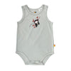 Singlet Baby Jump Suit - Organic Cotton -Chimp