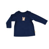 Baby Long Sleeve T-Shirt - Organic Cotton -Lynx