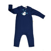Long Sleeve Baby Jump Suit - Organic Cotton -Polar Bear