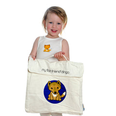 Giant Panda Bear Cotton Carry Bag