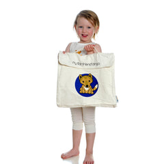 Tasmanian Devil Cotton Carry Bag