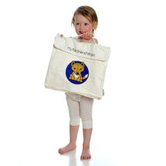 Polar Bear Cotton Carry Bag
