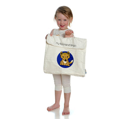 Black Bear Cotton Carry Bag