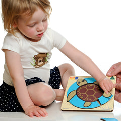 Archelon, Sea Turtle Wooden Puzzle
