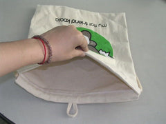 Koala Cotton Drawstring Bag