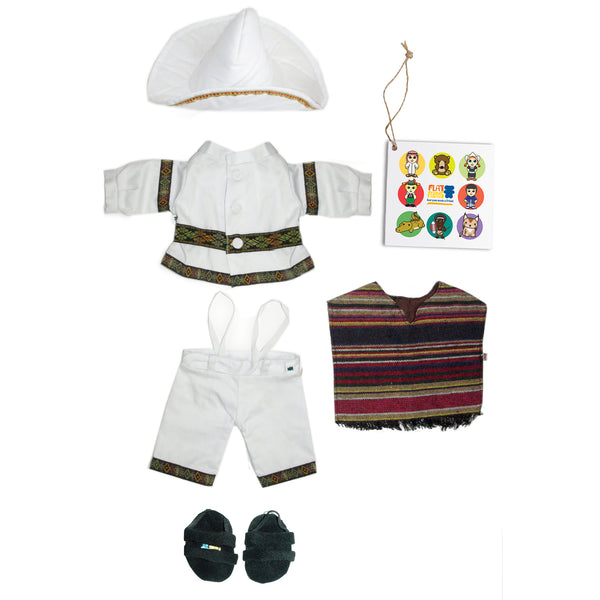 Mexican boy costume, 46cm HP