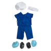 Scrub nurse uniform, 46cm HP